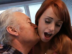 Lucky oldman fucks with super sexy stunner Erica Fontes