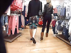 Tight Latex Ass On Teenage Shopper