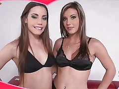 2 beautiful canadian not sis start in pornography together