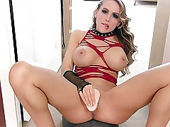 Beautiful Mistress JOI With Dildo Play