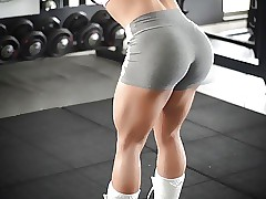 My god!!! fitness steaming ASS steaming body