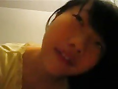 Super-cute Japanese Teenage Deep-throating her neighbours hard-on
