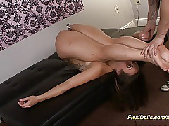 real contortion gal in kamasutra positions