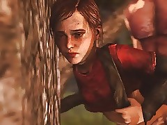 The Last of Us - Ellie forest sex