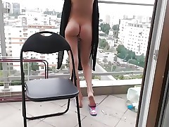 vibro in pussy and burst
