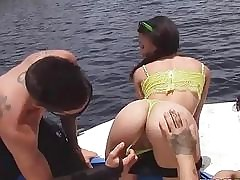 Holly luvs rough fuck and spanking backside