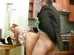 Sexually aroused older teacher is seducing stunners cootchie