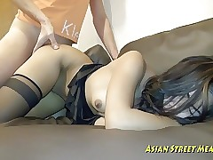 Fresh Clean Thai Woman With Jiggly Titties