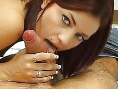 Wild hottie is gratifying twunk with footjob