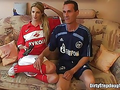 Blondie Teenage Stepdaughter Deep Fucked By Her Stepfather