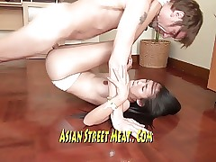 Gorgeous Asian Beauty Queen Screws For Supper