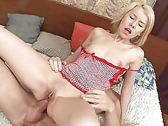 Nymph with pierced vag is for xxx sheer pleasure