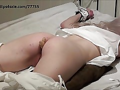Victorian dame get ginger pain in ass before her spanking