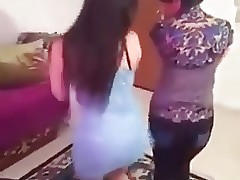 Arab teenagers dance
