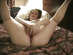 Very Kinky Yam-sized Obese Teen draining at her hotel-1