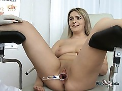 Blond Whore Gets Her Wet Pussy Smashed
