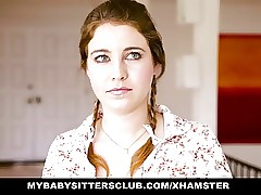 MyBabySittersClub - Teenage Baby Sitter Caught and Porked