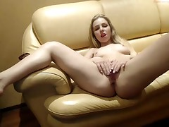 Phat hard cock doggystyle action for blonde
