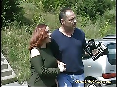 plumper german picked up for sex tape