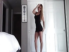 Teen loves to fuck and suck in high heels