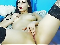 Hot Amature Cam Babe Play Her Cunt Till She Ejaculation