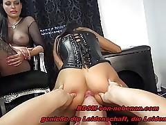 2 GERMAN Sadism & masochism TEENS - Ass-smothering TRAMPLING NS - REAL USER