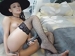 Hot Teen Plays with her Smooth Tight Cunt