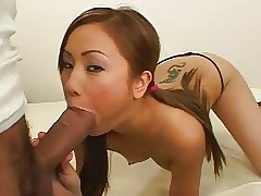 Asian Teen vs.Massive Cock