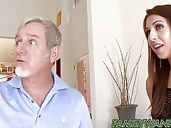 Nasty Ariana Grand tempts not stepdaddy into pummeling her