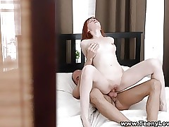 Teeny Lovers - Teen redhead thirsty for hook-up