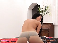 Captivating czech sex kitten lexi dona gropes and orgasms