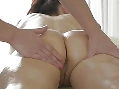 Olya takes a hard anal pounding for the first time