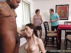 Cuckold brutha and daddy watch Lana Rhoades takes Big black cock