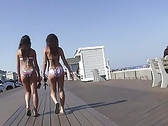2 Bikini Teens w Smokin' Warm Asses