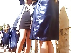 Turkish Graduation Pantyhose Legs