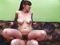 Old & Youthfull - naughty stud fucks his wooly pussy mom