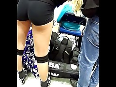 Volley Woman Butt