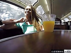 Public Bang-out on Trains girl meets guy and fucks on train