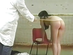 Schoolgirl slapped in gym by teacher