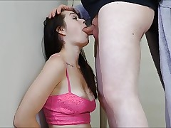 Teen Slave Anastasia Rose Earns Her Orgasm