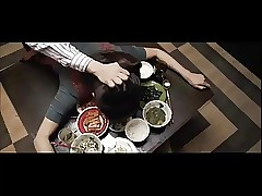 japanese wife penetrated on table by hubby