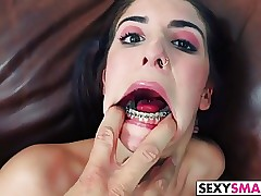 Hard fucking for petite Sally Squirt