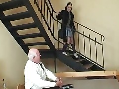 STP3 Grandads Girl Calls To Give Him His Weekly Fuck !