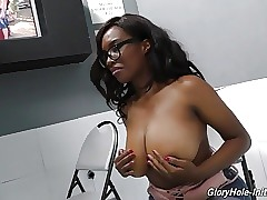 Black busty daughter suck and fuck milky boy