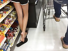 Nice Soles and Legs Standing In Line 3