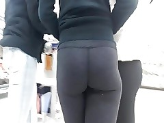 She made me wild 006 yoga pants