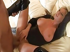 stunning brit babe fucked in hip boots