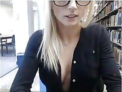 British public nudity Blonde Strip in public Part 1 of 2