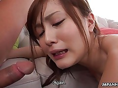 Fucking a highly seductive maid in a super-fucking-hot hot threesome
