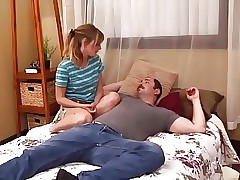 STP3 Sister Comes Home Desperate To Fuck !